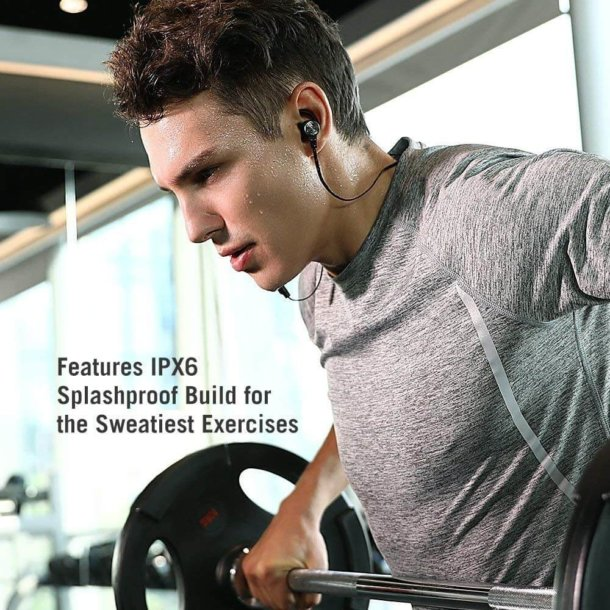 TaoTronics Wireless 5.0 Magnetic Earbuds Snug Fit for Sports